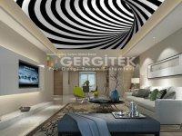 3D boyutlu gergi tavan Ankara